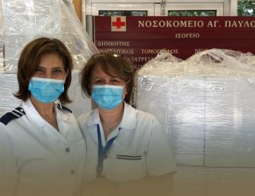 Η Rhetor προσφέρει 300 πασχαλινά καλάθια στο ιατρονοσηλευτικό προσωπικό του Γ.Ν.Θ. Άγιος Παύλος